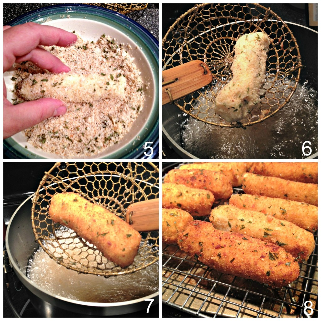 How to make potato croquettes from leftover holiday mashed potatoes part 5-8