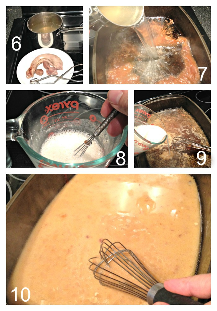 Making Gravy from Drippings -- Thickening