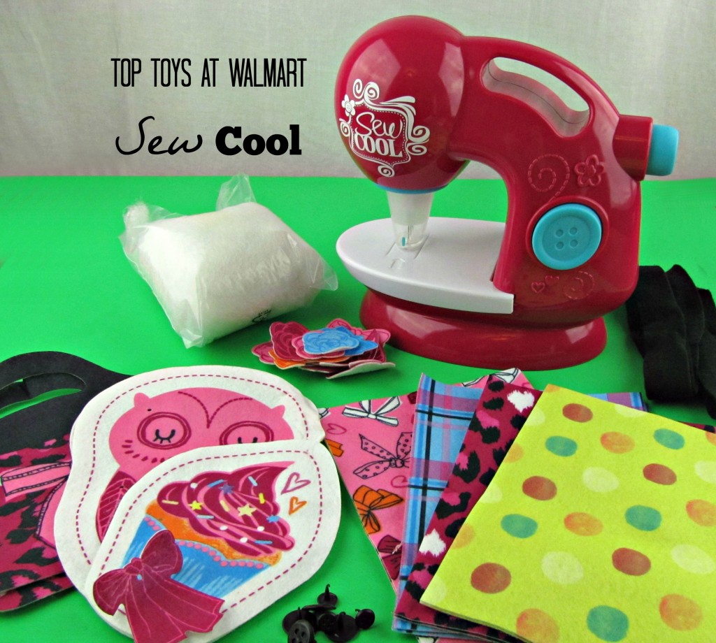 Top Toys at Walmart Sew Cool Threadless Sewing Machine