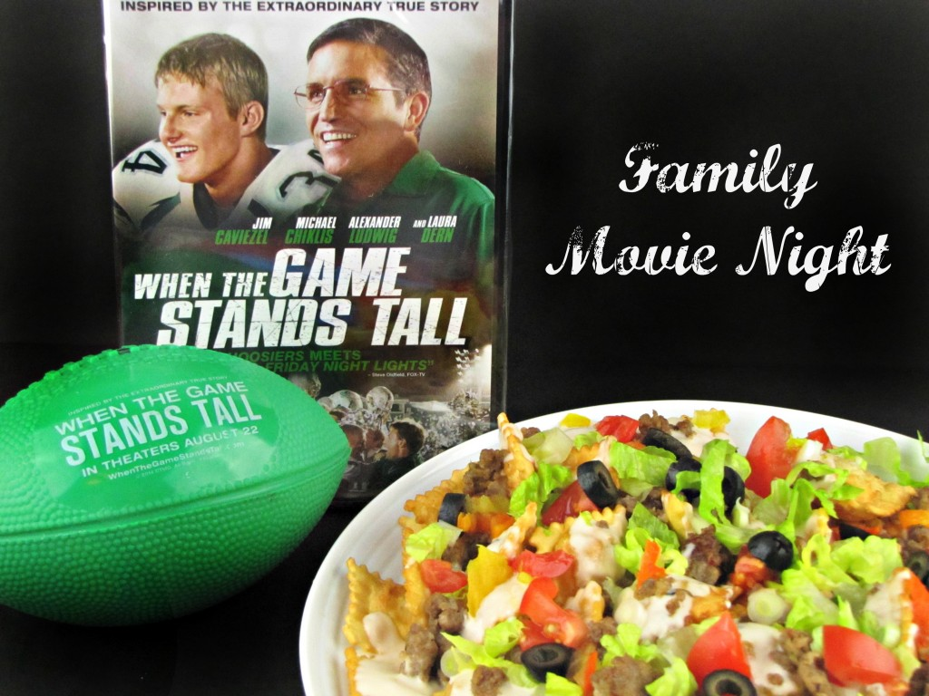 Family Movie Night -- When the Game Stands Tall