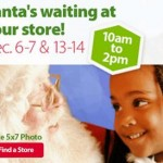 Free Santa photos at Walmart