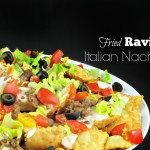 When the Game Stands Tall for Family Movie Night (with Fried Ravioli Italian Nachos!)