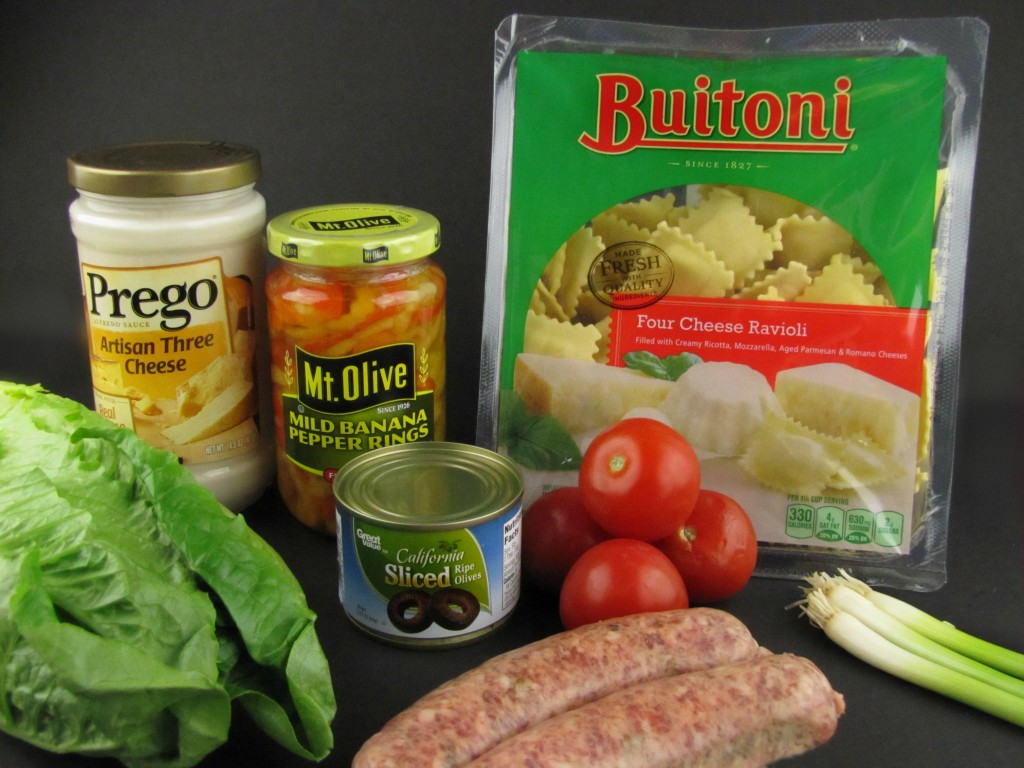 Fried Ravioli Italian Nachos Ingredients from Walmart