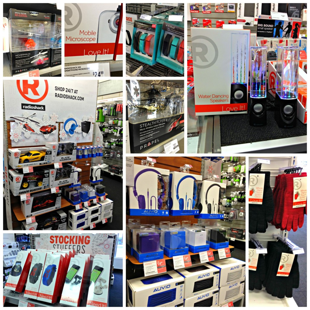 Giftsmart this holiday with Radio Shack