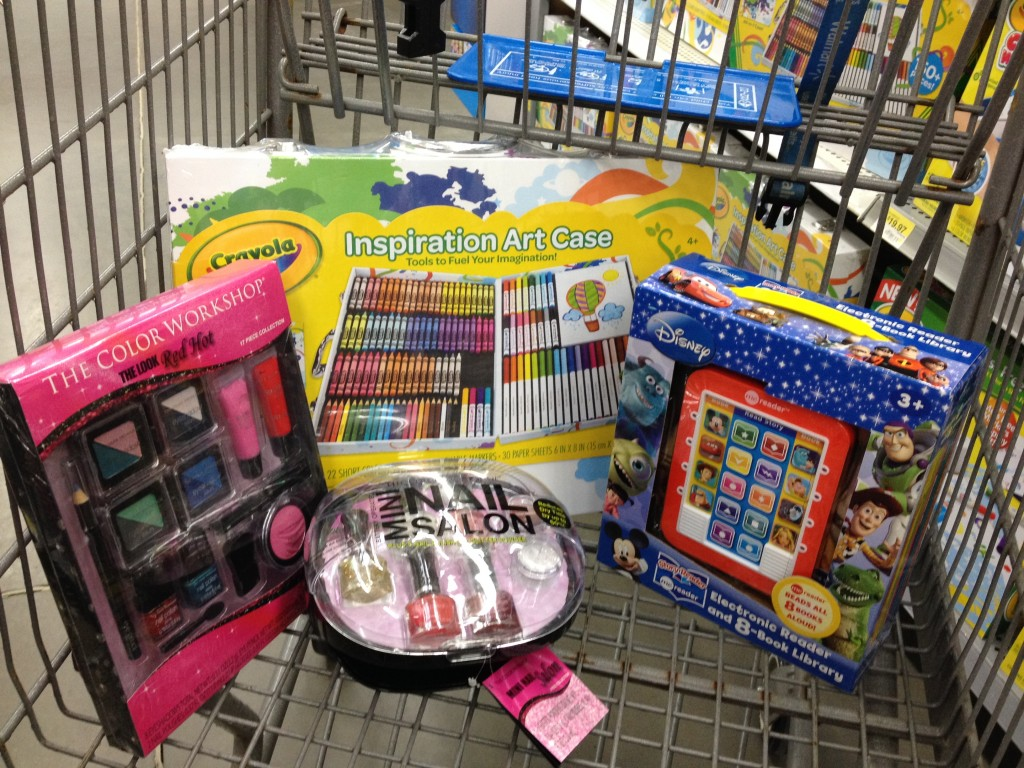Walmart Toys For Girls : Fill the truck at walmart frugal upstate