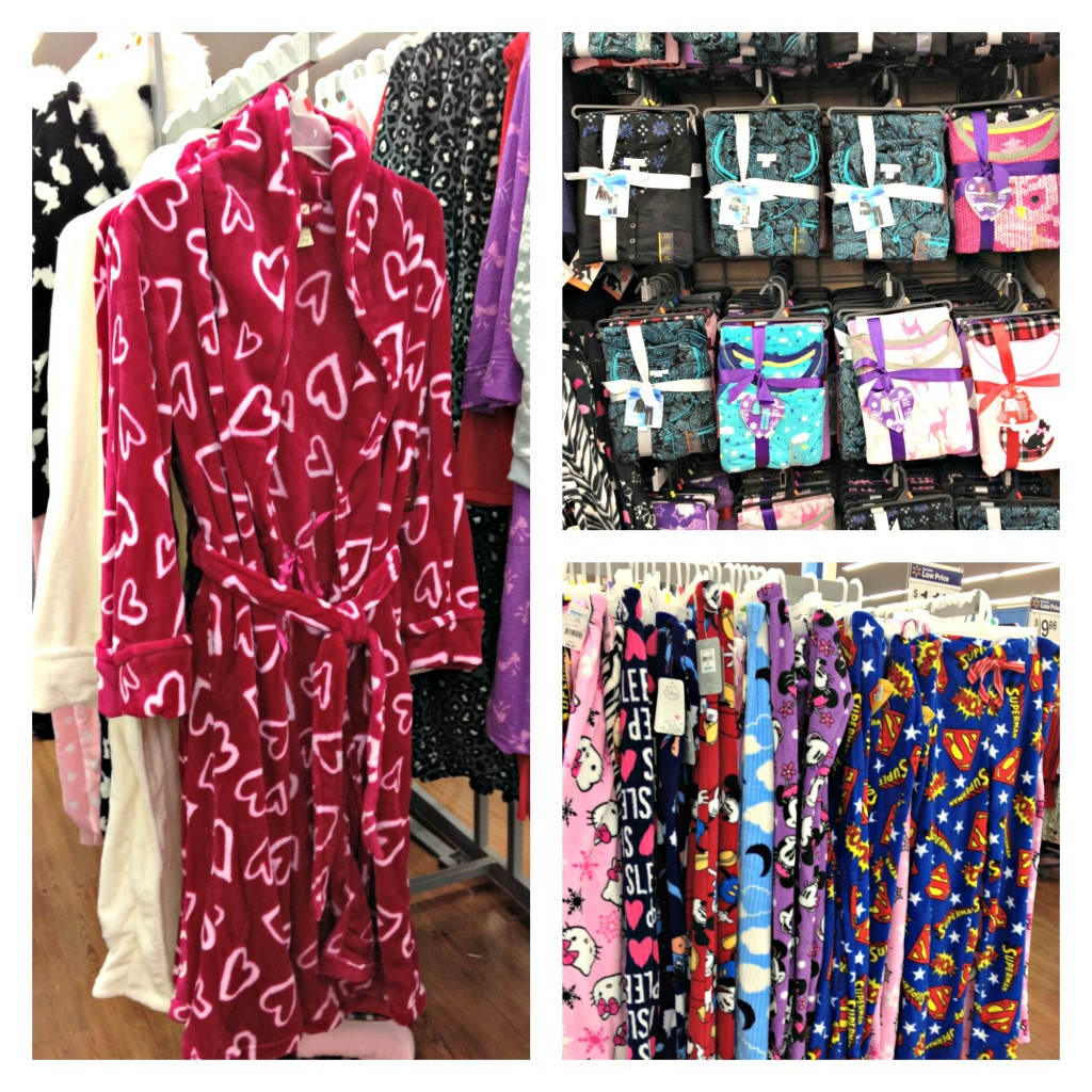 Ladies PJ's at Walmart - Perfect for Christmas