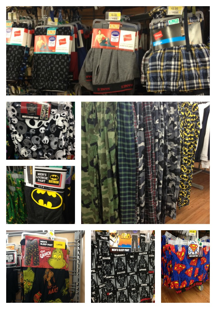 mens sleep pants at walmart - Walmart Christmas Pajamas