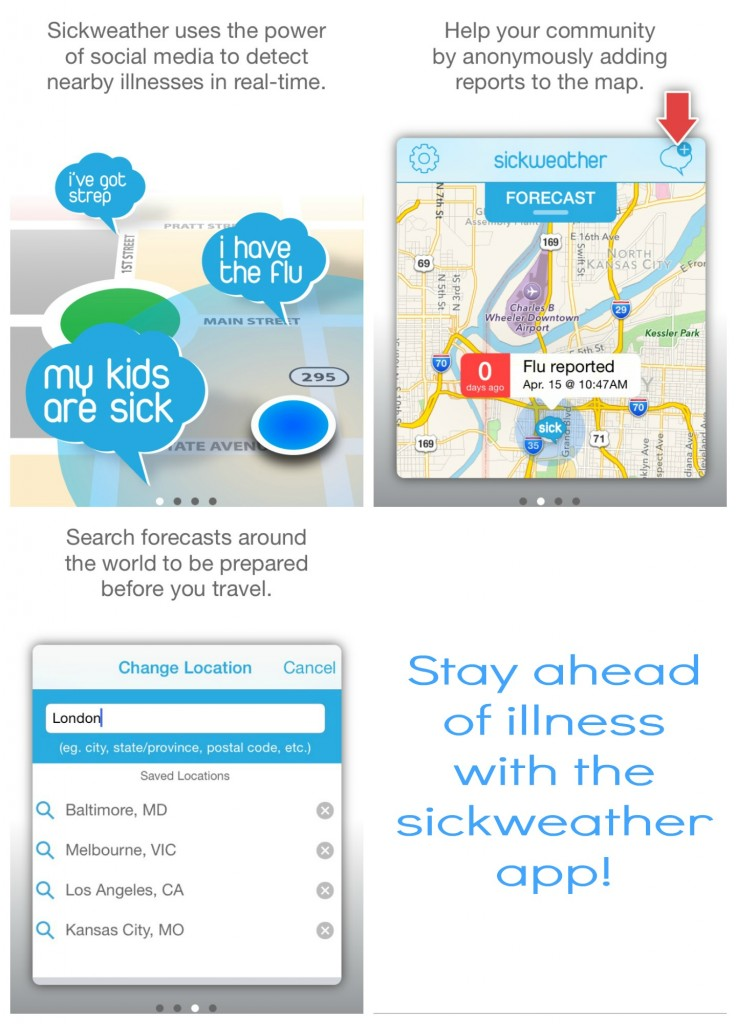 Sickweather -- How it works