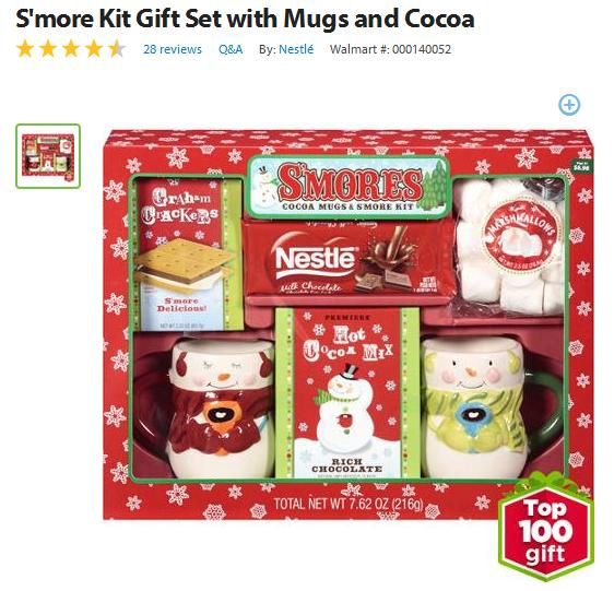 My kids love hot chocolate–so I know they would think this S'mores and Hot Chocolate kit is fun. At just under $10 it's a great gift to give/send to kids ...