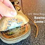 DIY Shoe Repair–How to Reattach a Loose Sole