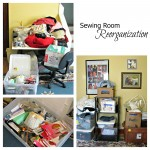 Sewing Room Reorganization Project