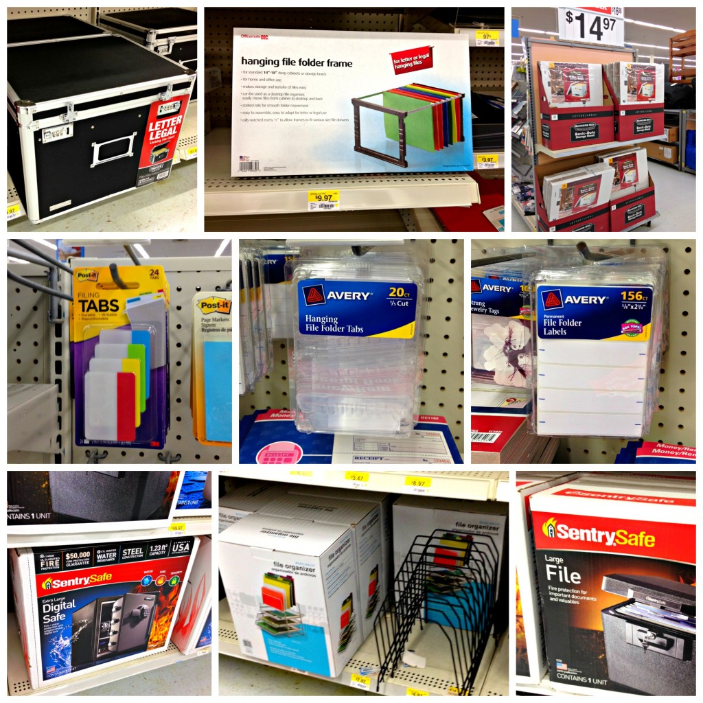 Great Supplies to help organize your office at Walmart