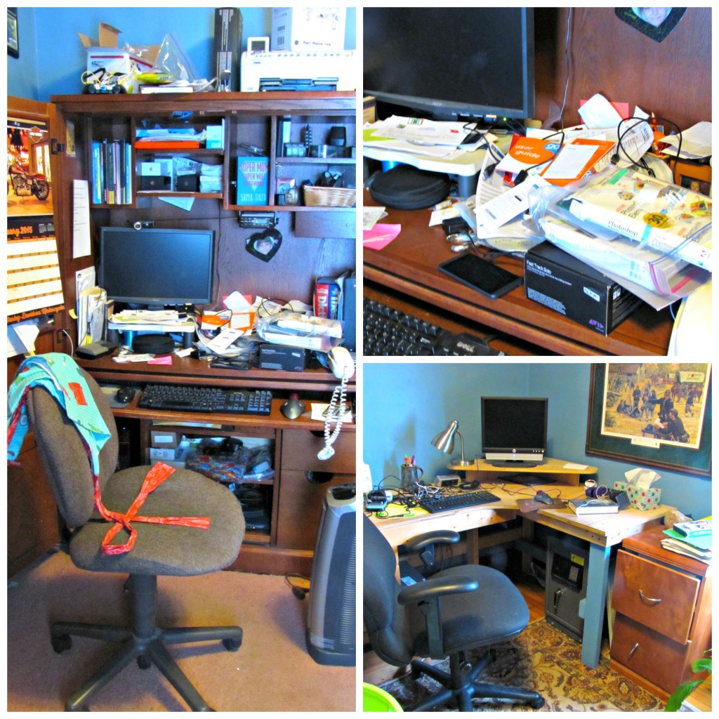 Home Office Before Organization