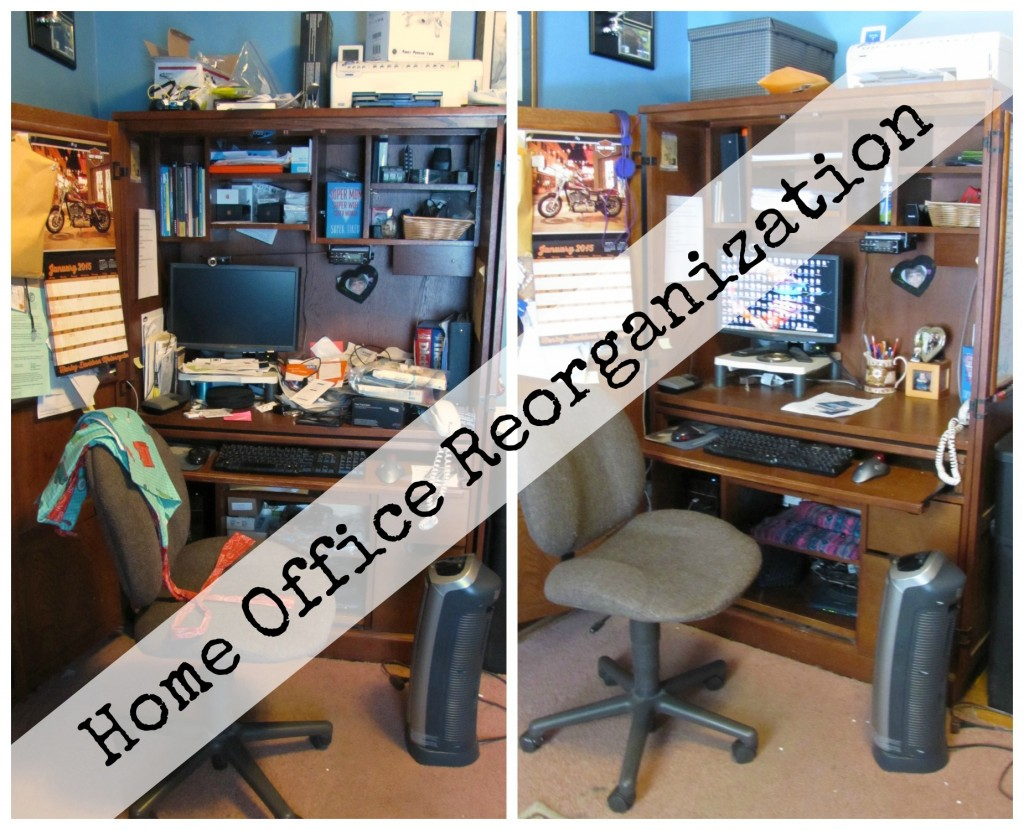 Home Office Reorganization