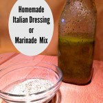 Homemade Italian Dressing or Marinade Mix