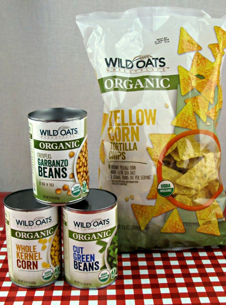 Wild Oats Organic Products for a Marinated Bean Salad