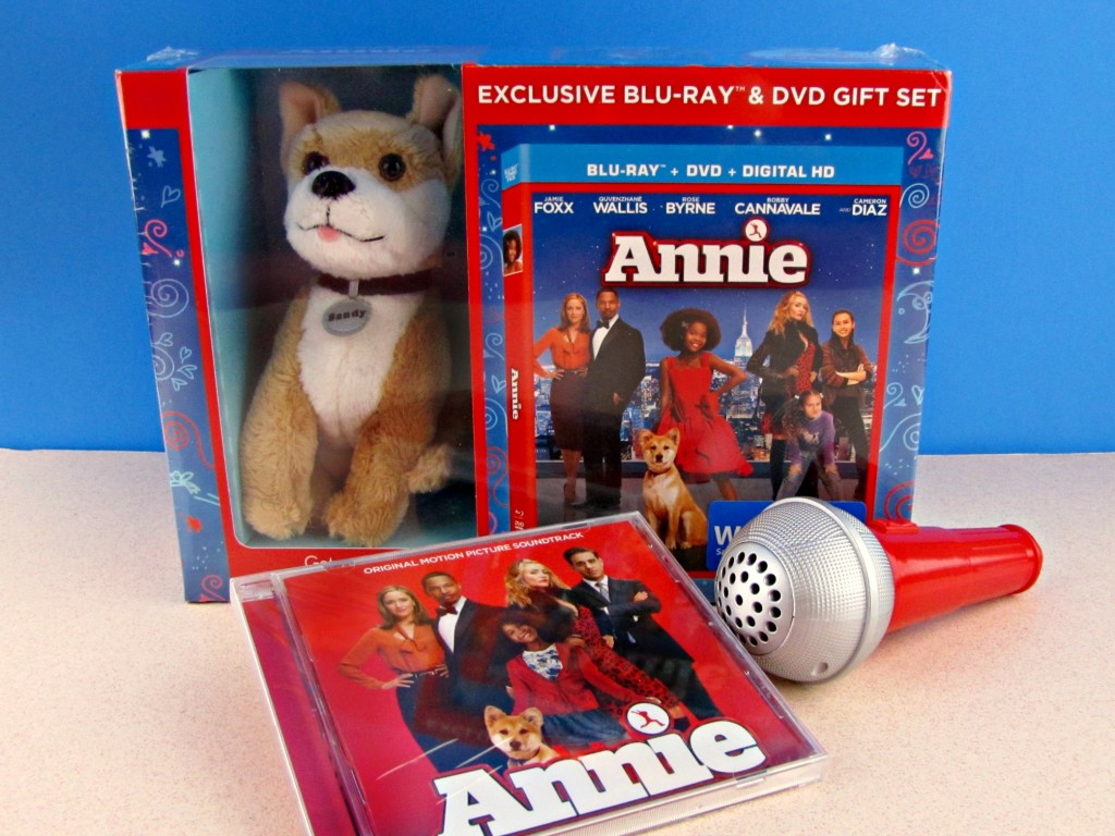 Annie Exclusive Blu-Ray & DVD gift Set