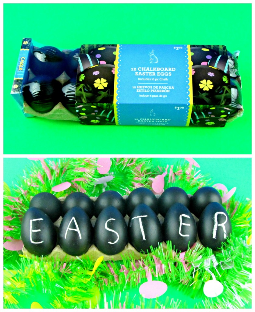 Chalkboard Easter Eggs -- At Walmart