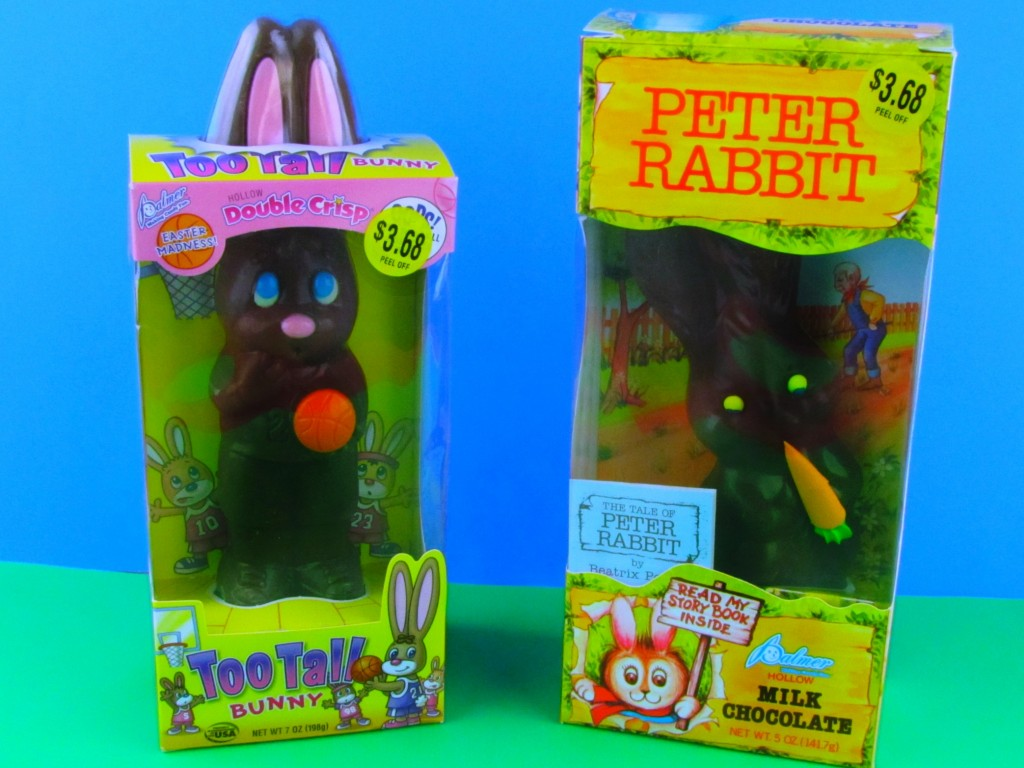 Chocolate Easter Bunnies from Walmart.