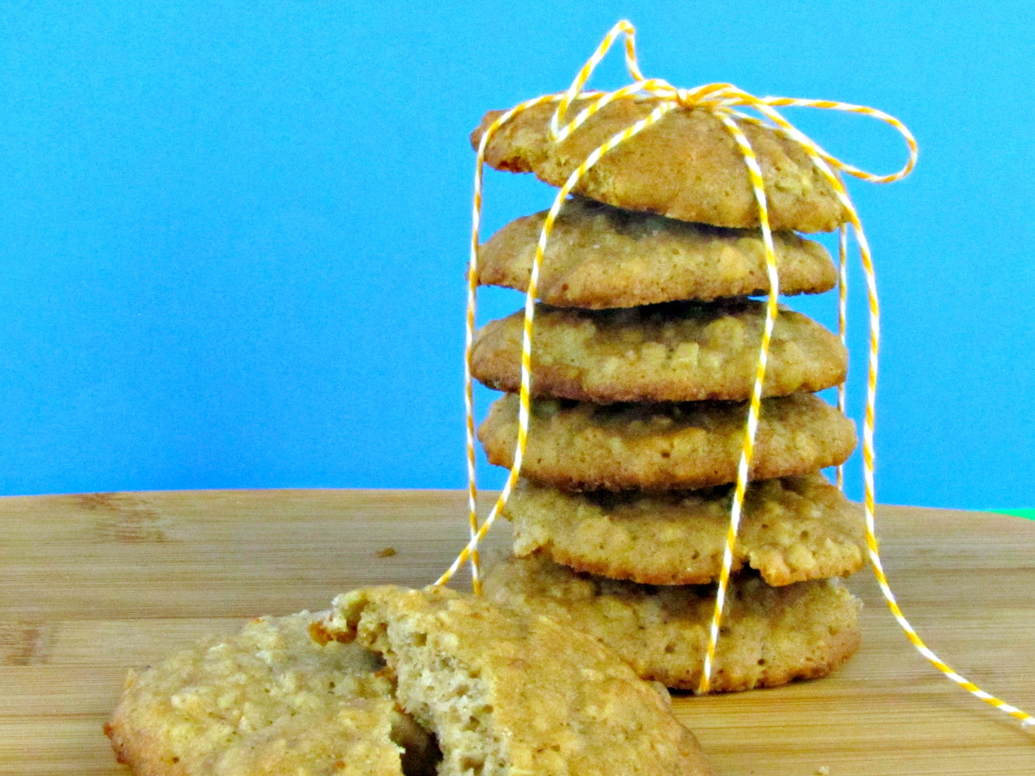 Banana Oatmeal Chocolate Chip Drop Cookies