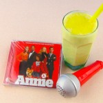 Enjoy Annie with a Sunshine Pineapple Shake