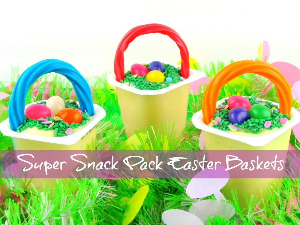 Super Snack Pack Easter Baskets