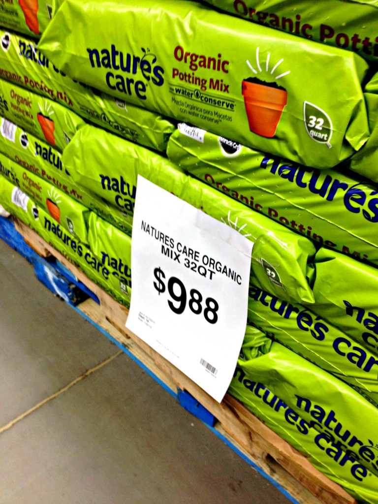 Organic Potting Soil at Walmart