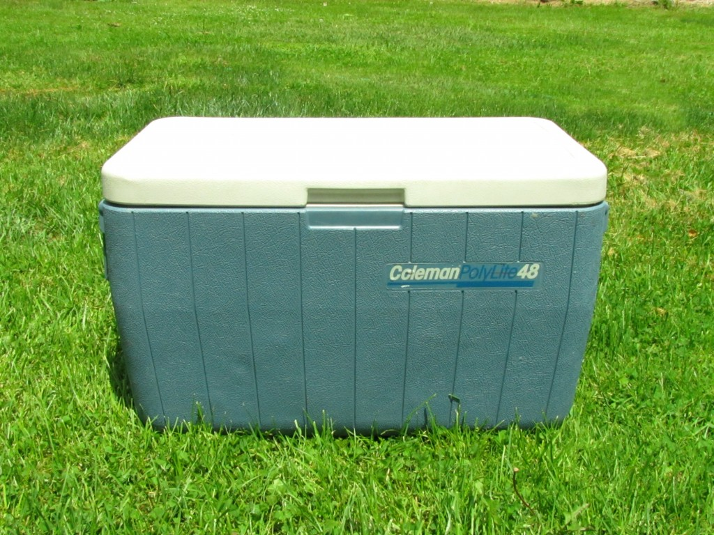 25 year old Coleman Cooler - Still going strong