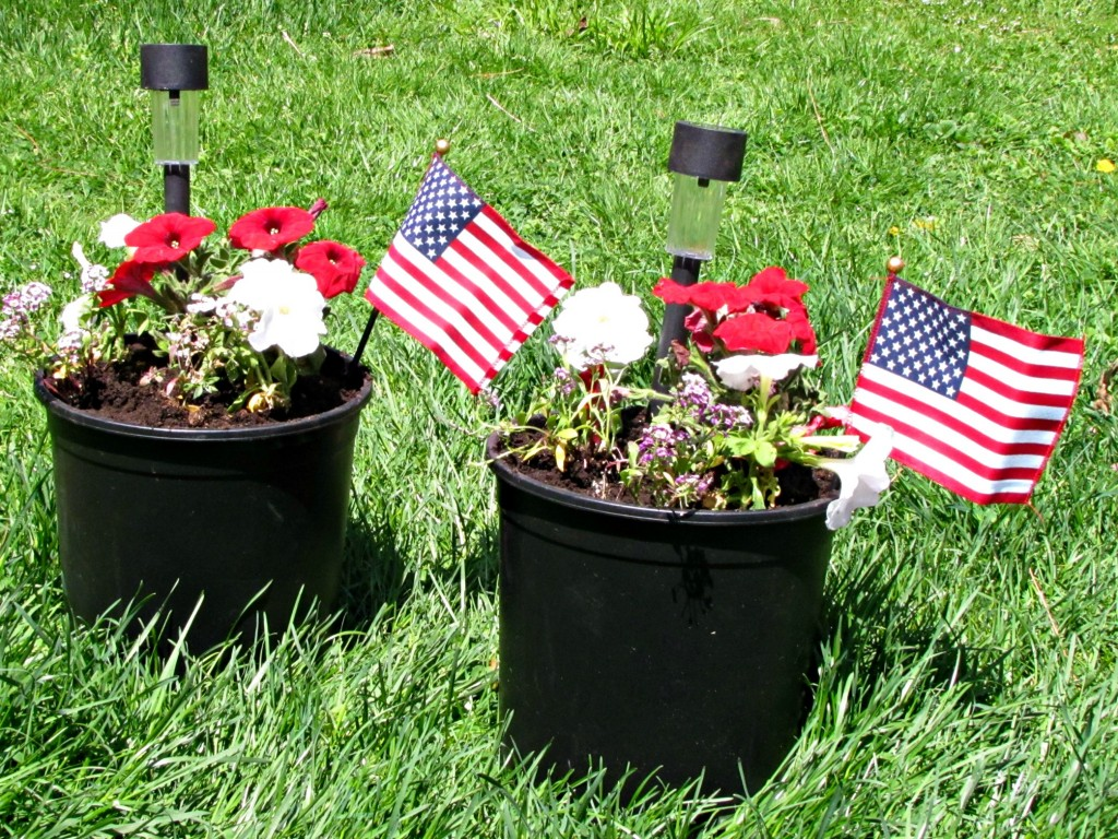 Memorial Day Planters