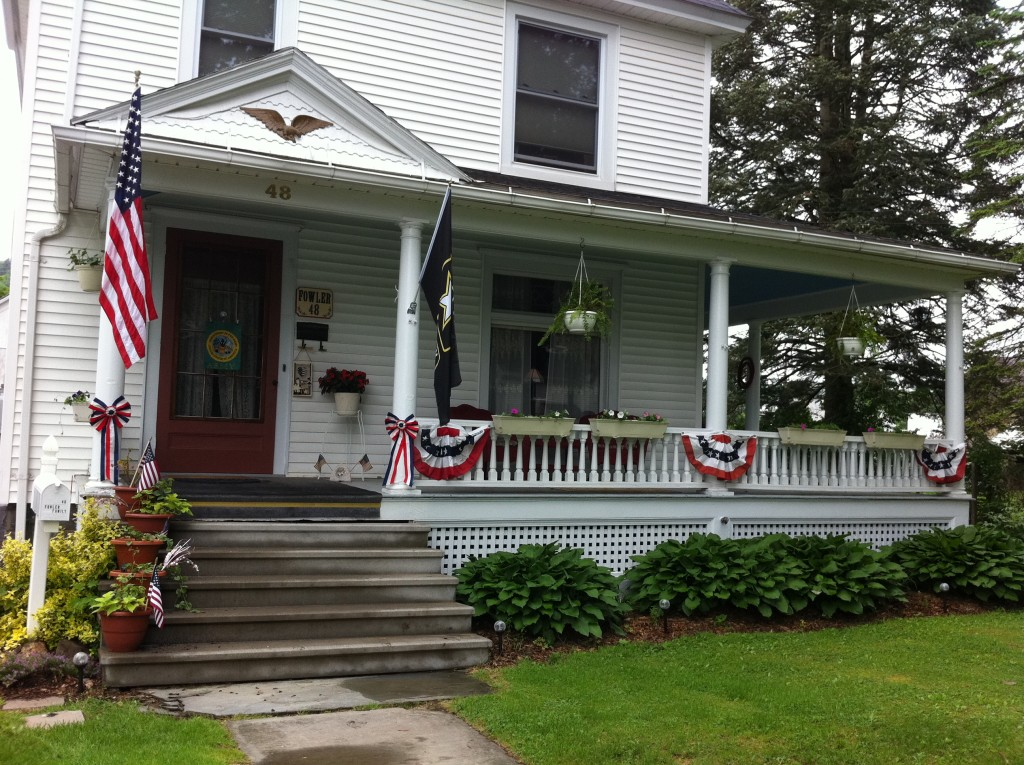 Porch for Memorial Day