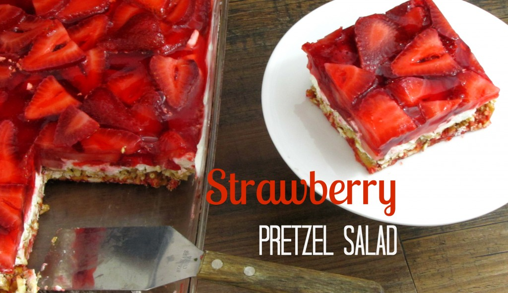 Strawberry Pretzel Salad | Frugal Upstate