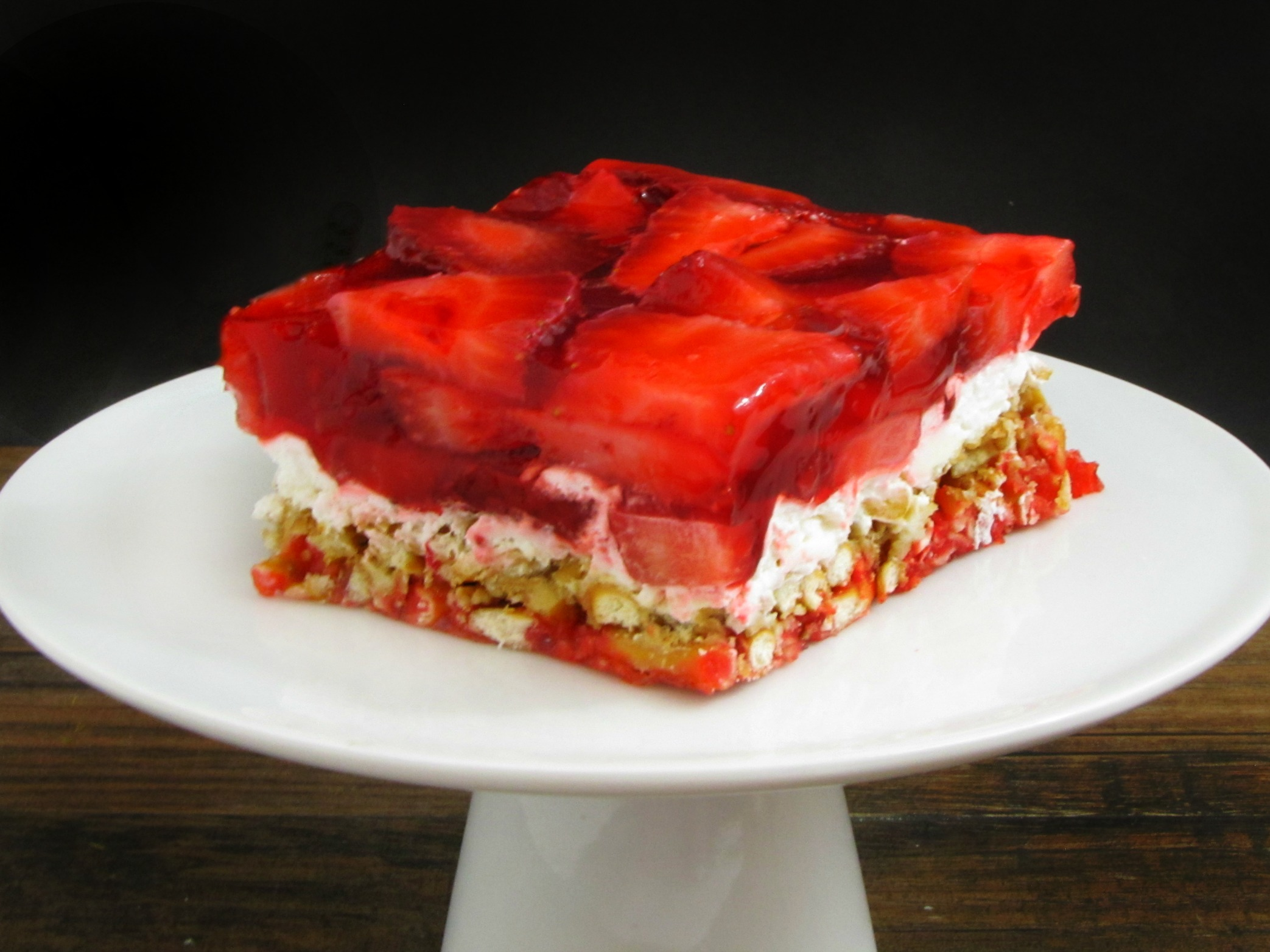 Strawberry Pretzel Salad Recipes — Dishmaps