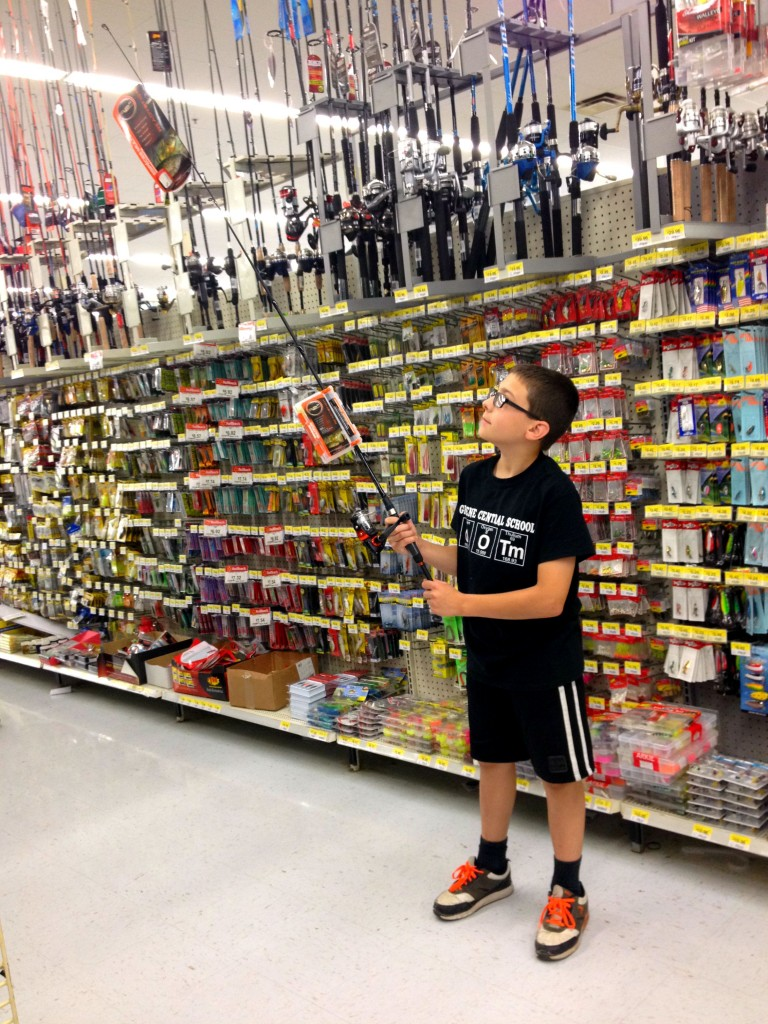 Image gallery walmart fishing for Fishing kit walmart