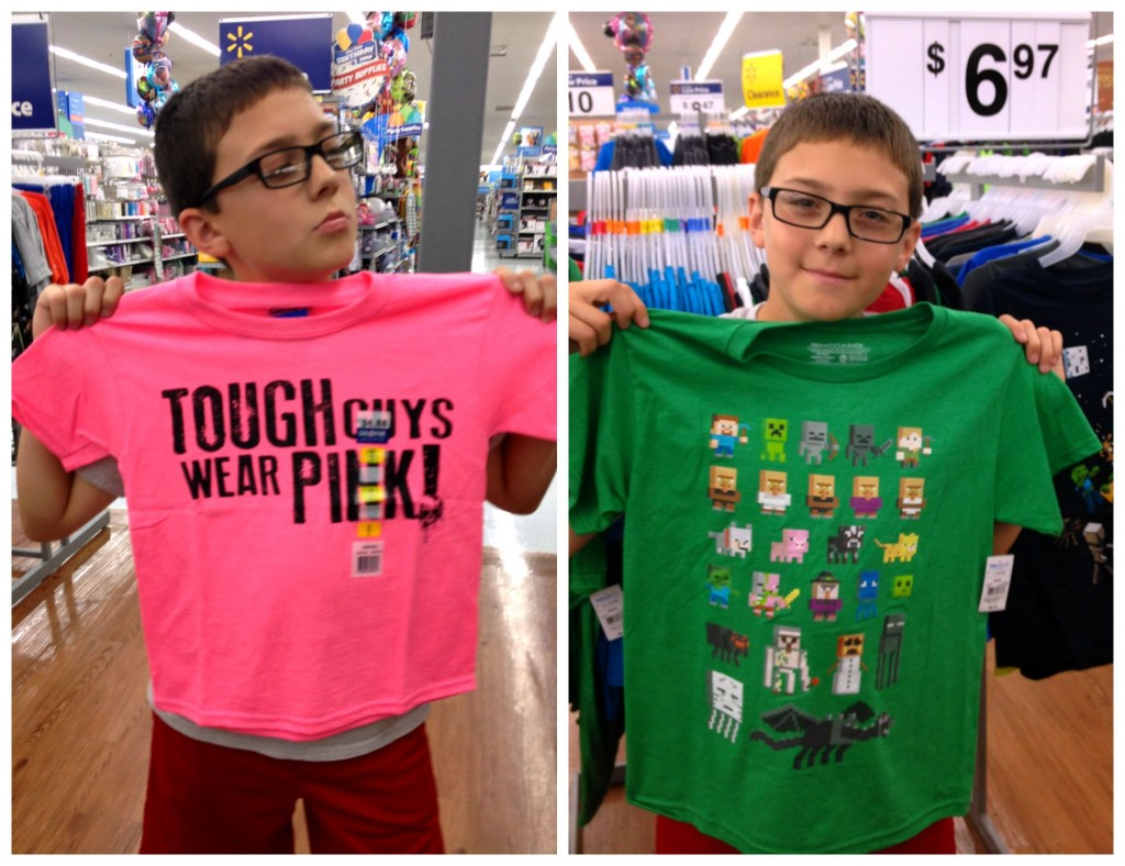 Buddy's Back to School T Shirt Choices