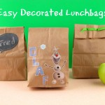 Easy Decorated Lunchbags