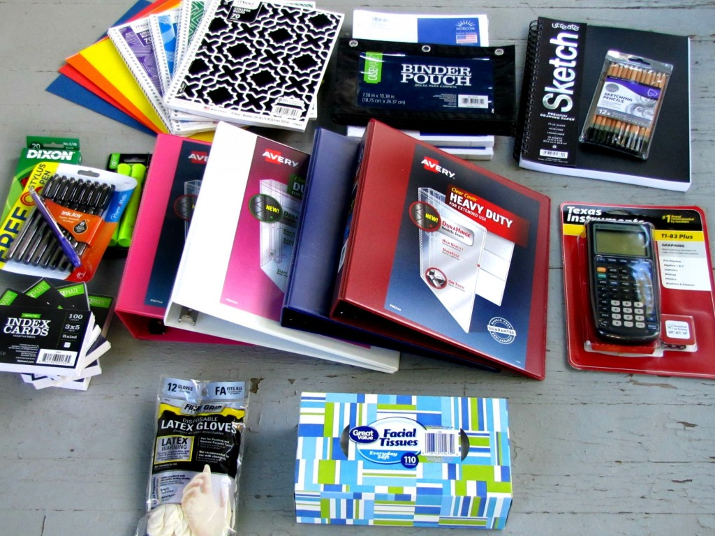 Back to School Supplies for Highschool | Frugal Upstate