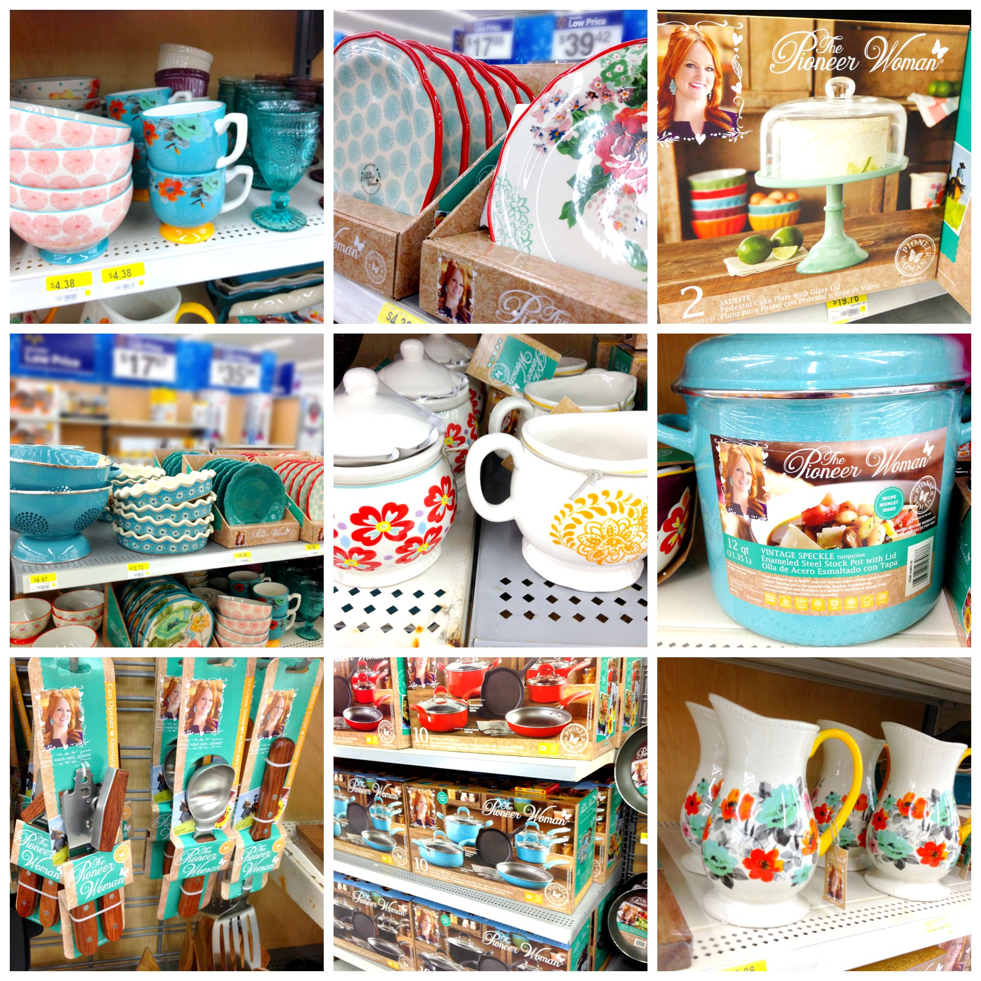 So much beautiful stuff! These would make great wedding gifts or ...