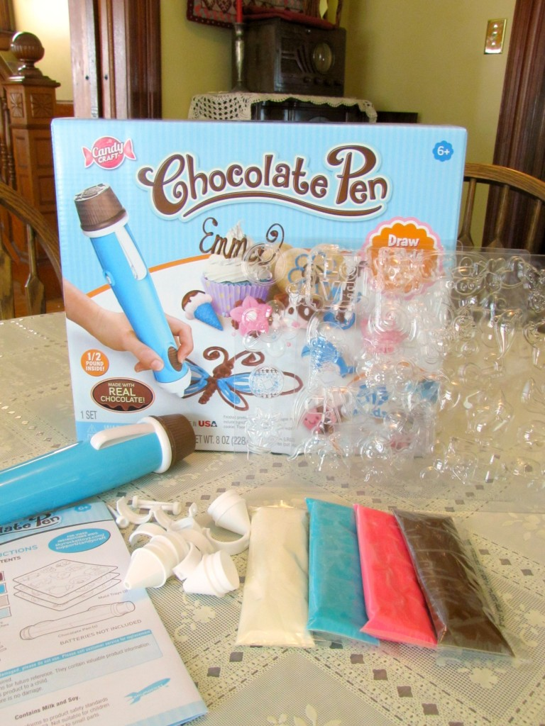 Chocolate Pen from Candy Craft - Frugal Upstate