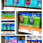 Relion diabetes management products at Walmart