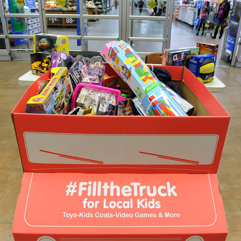 Fill A Truck 2017 Toys For Tots : Ways to donate gifts this christmas frugal upstate