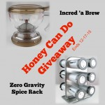 Incred 'a Brew and Zero Gravity Spice Rack — GIVEAWAY!