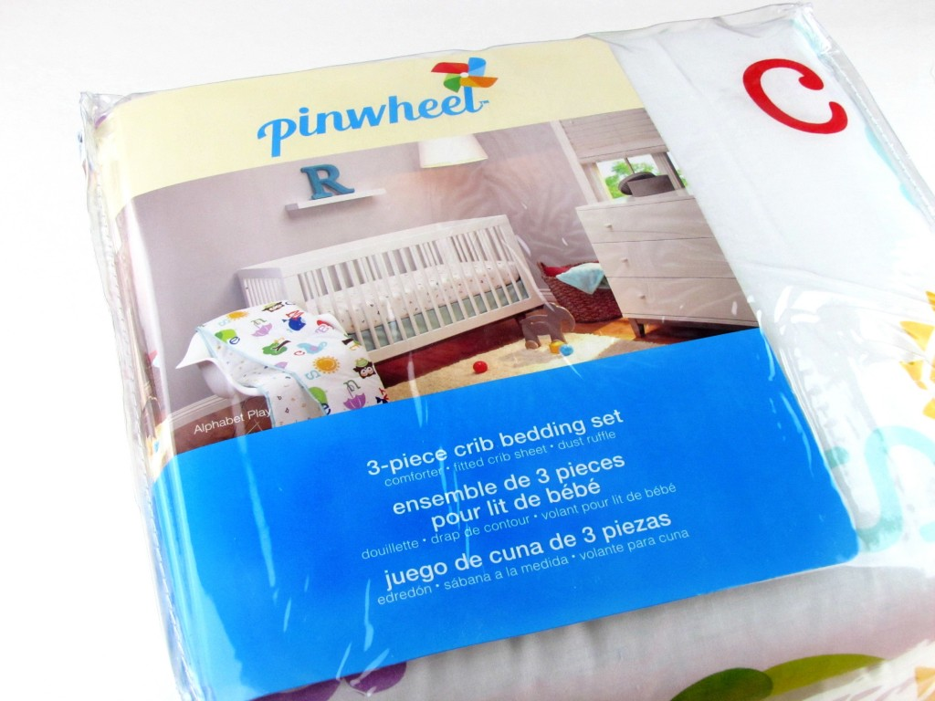 Inspirational Pinwheel Crib Bedding at Walmart