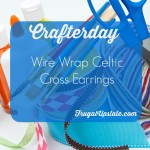 Wire Wrap Celtic Cross Earrings — Crafterday