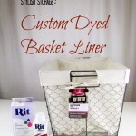 Custom Dyed Basket Liner