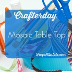 Mosaic Tabletop — Crafterday!