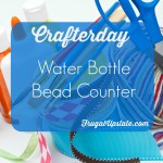 Water Bottle Bead Counter — Crafterday!