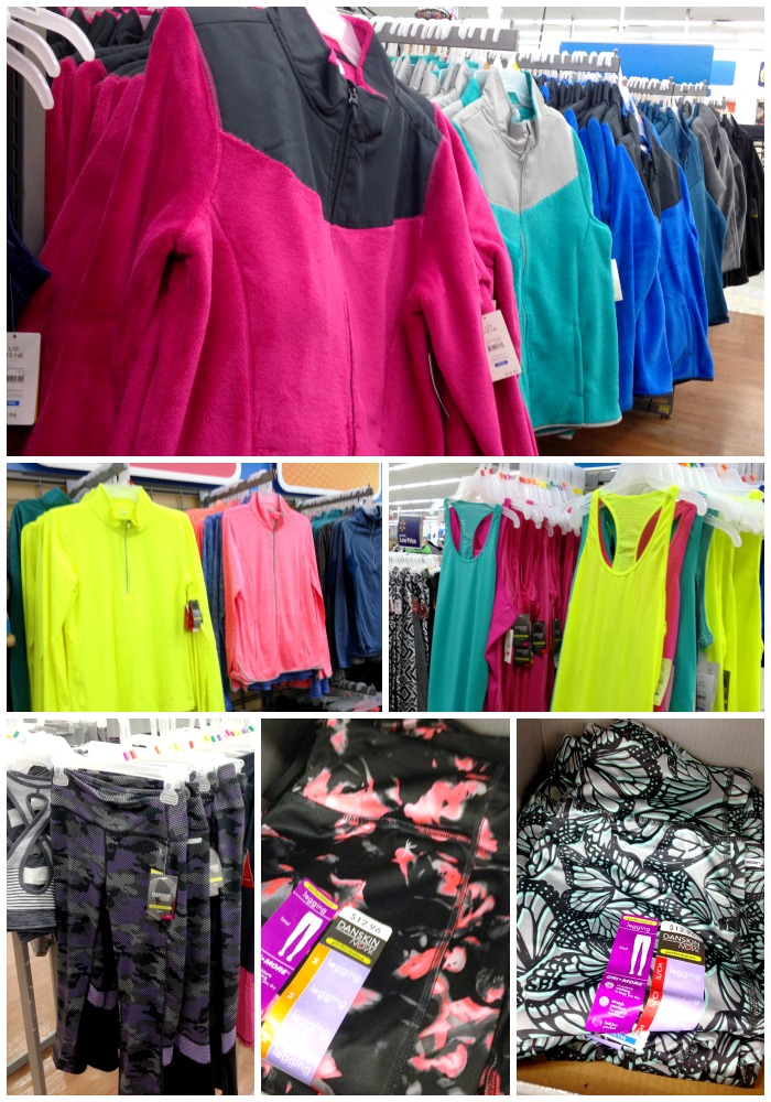 Workout Wear at Walmart