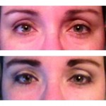 Valentines Day Date Night Eyes with Flower Cosmetics