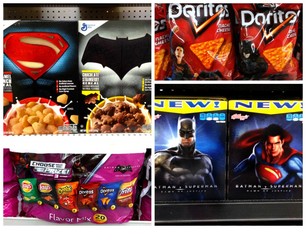 Batman vs Superman Snacks