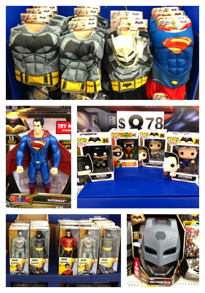Superman vs Batman Toys